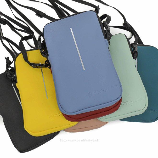 Wasserfeste 'Mart' Telefontasche - Schwarz