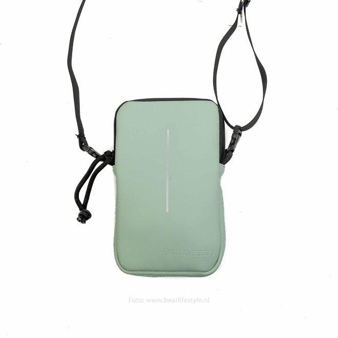 Waterafstotende 'Mart' Phonepocket - Minz blau