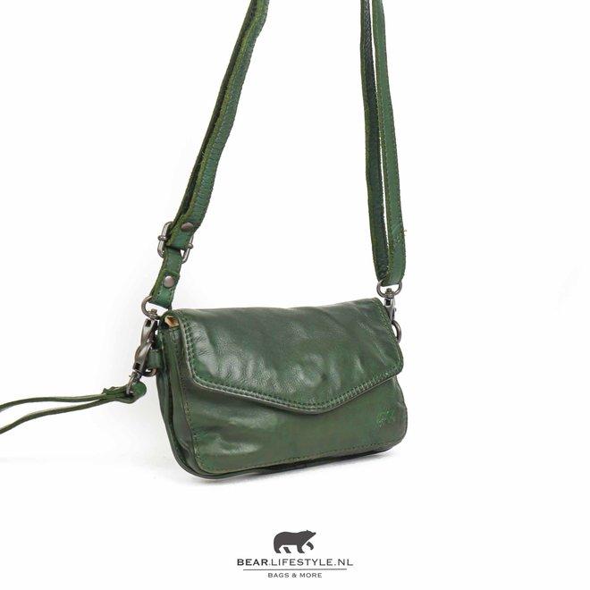 Enveloptasje 'Merel' - Groen CL 41050
