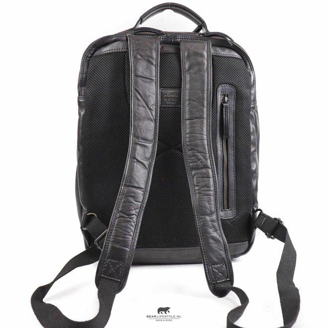 Laptop rugzak 17 inch 'Ties' - Zwart CL 40848