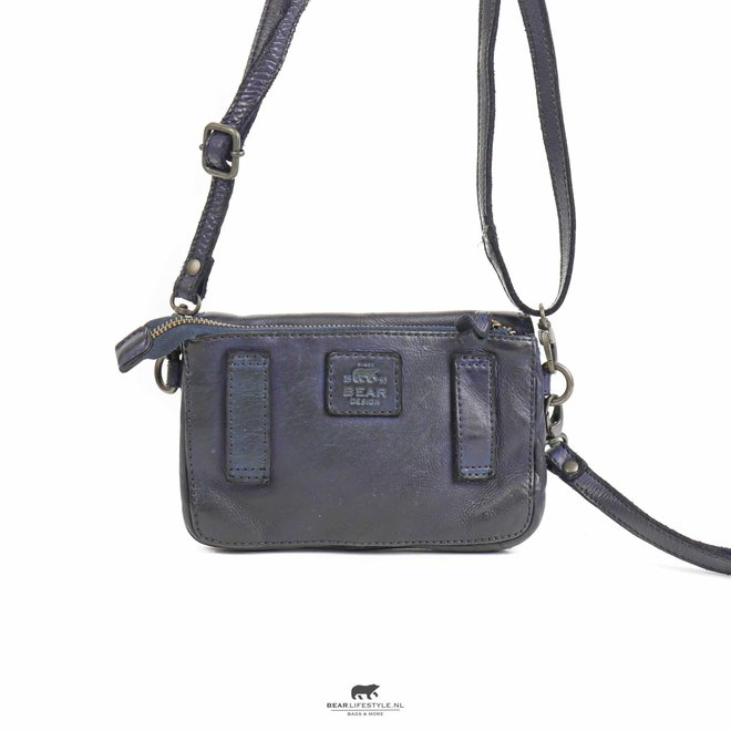 Enveloptasje 'Merel' - Blauw CL 41050