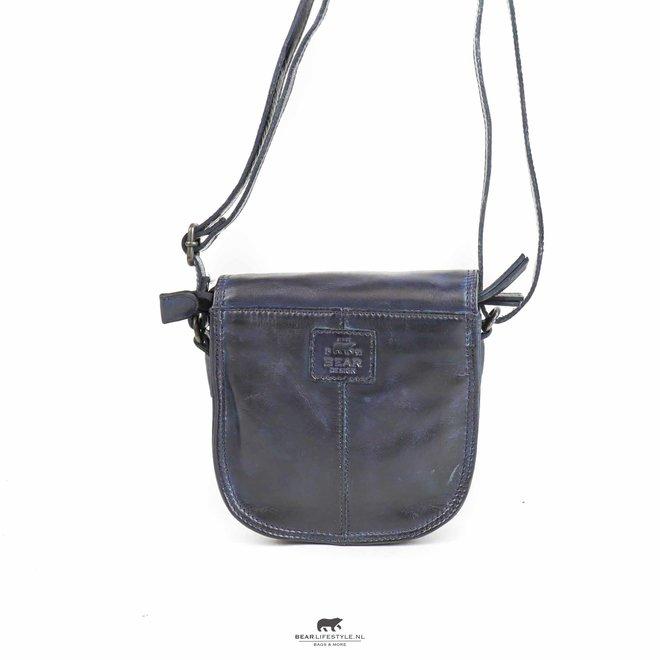 Schoudertasje 'Suze' - Blauw CL 41007