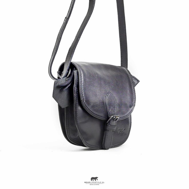 Schoudertasje 'Suze' - Zwart CL 41007
