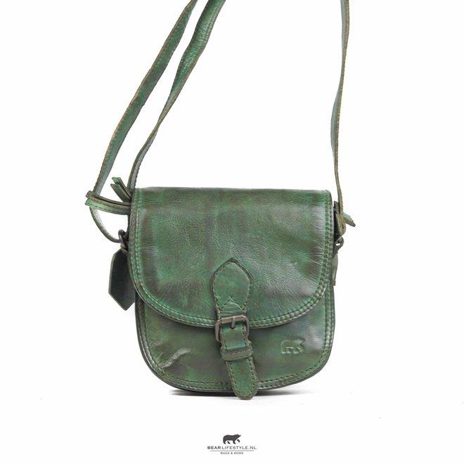 Schoudertasje 'Suze' - Groen CL 41007