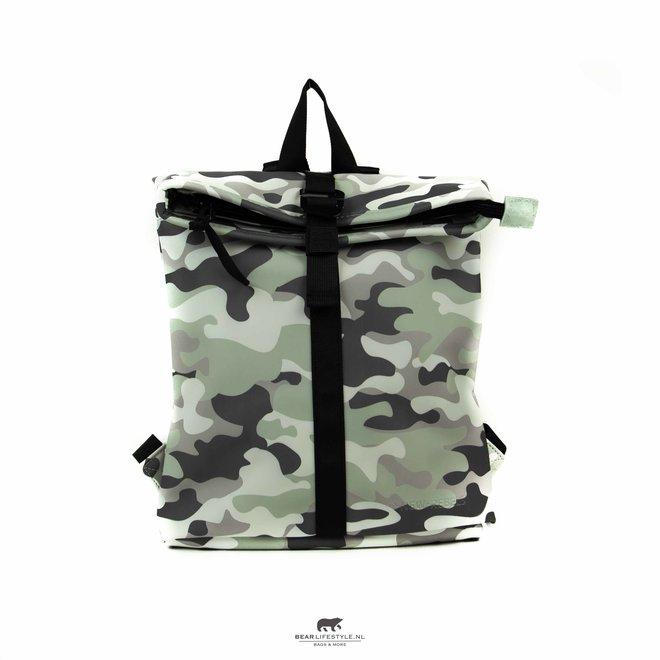 Wasserdichter Rucksack 'Mart' Mini 9L camouflage Mint