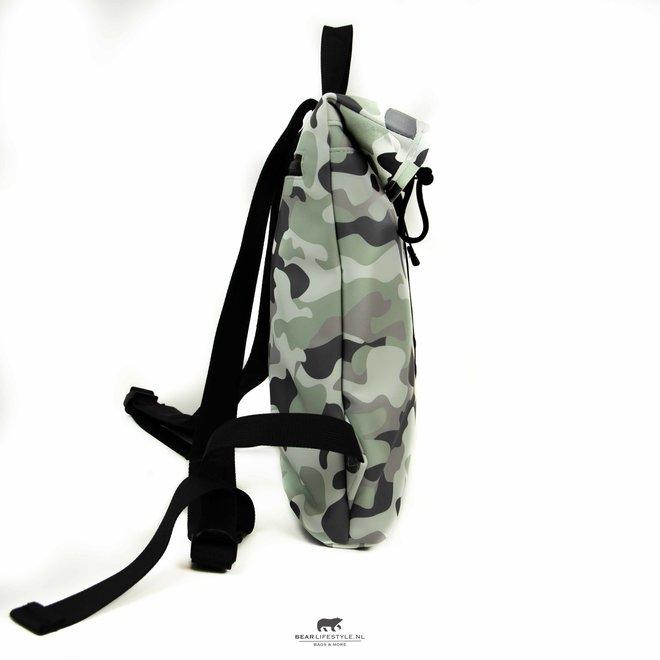 Wasserdichter Rucksack 'Mart' Mini 9L camouflage Schwarz