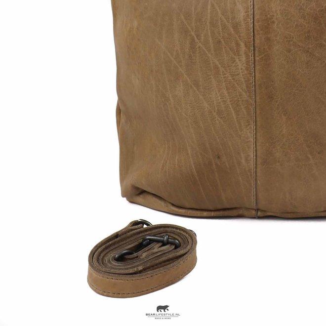 Shopper met schouderband 'Juul' - Rino Grey CP2087