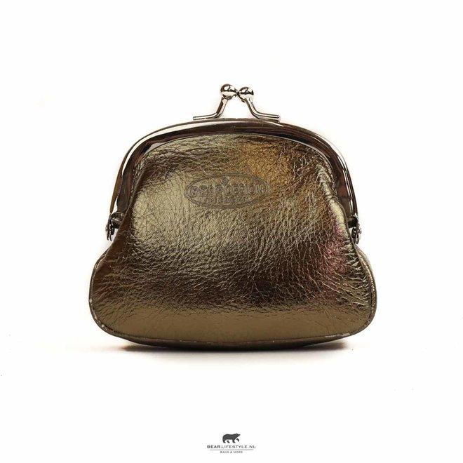 Dames portemonnee met knip - Klein Goud DS 2071