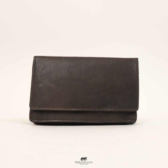 Klassische Damen Geldbörse - Braun  FR782