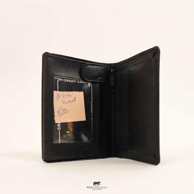 Billfold Hoog - FR 7254 Zwart