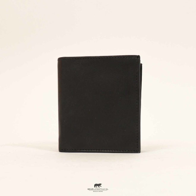 Pasjes portemonnee - Zwart 090302