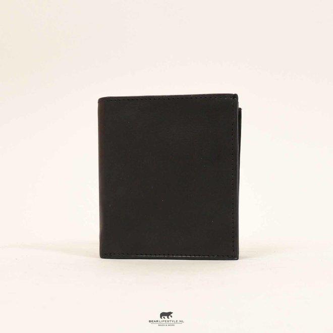 Ritsportemonnee/Etui B 2921 Zwart