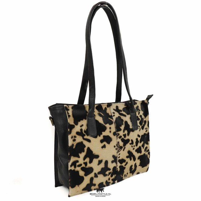 Shopper Cow - HH 02028 Zwart