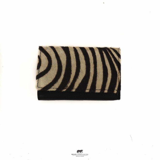 Mini Portemonnee - Zebra HH 236