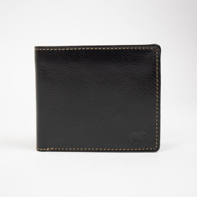 Billfold klein - RO 8754 Zwart laag