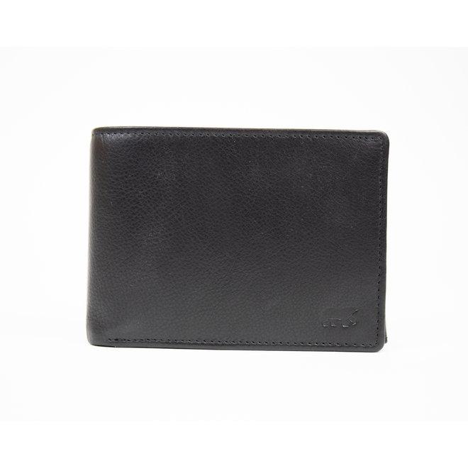 Billfold Laag - Basic Zwart FR7254 Anti Skim