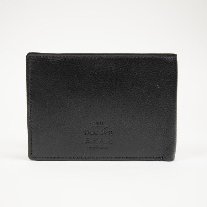 Heren Billfold 'Jan' - Klassiek Zwart FR 7254