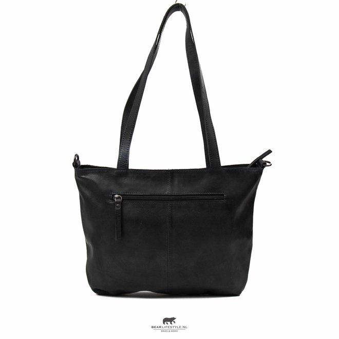 Shopper 'Flora' Zwart CP 2029
