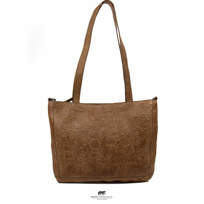 Shopper 'Flora' Taupe CP 2029