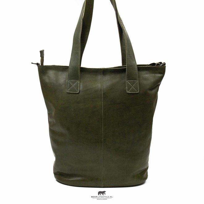 Shopper 'Flora XL' Groen CP 1997
