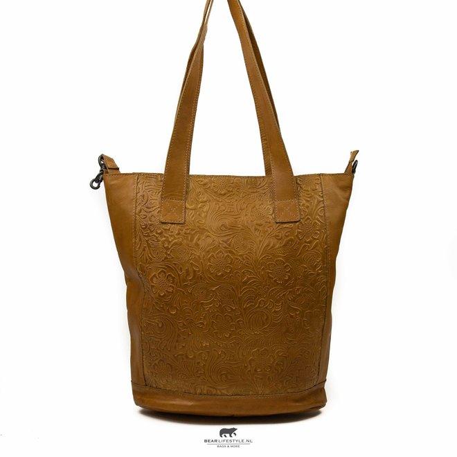 Shopper 'Flora XL' Geel CP 1997