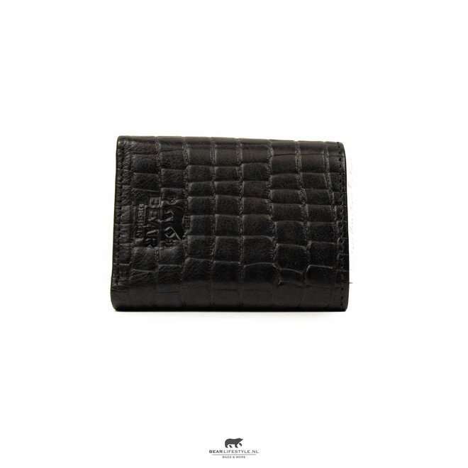 Croco Black Brieftasche BBC 4102