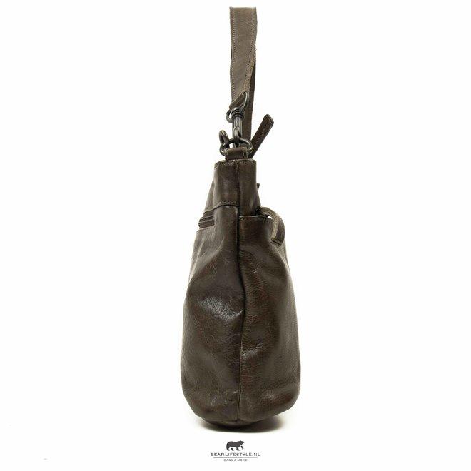 Schouder-/Handtas 'Angelica' - Dark Grey CP 1536