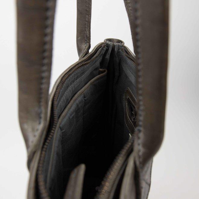 Hand-/Schultertasche Becky CP 1767 - Dark Grey