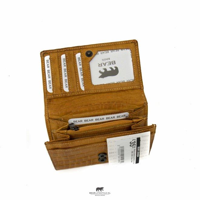 Kleine Damengeldbörse - BBC 5066 Croco Yellow