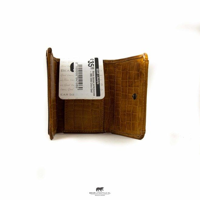 Croco Gelb Brieftasche BBC 4102