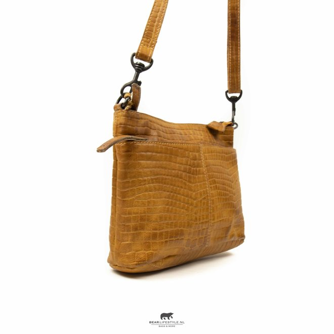 Schulter- / Handtasche 'Ashley' - Okergelb CP1867