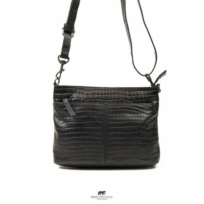 Schulter- / Handtasche 'Ashley' - Schwarz CP1867
