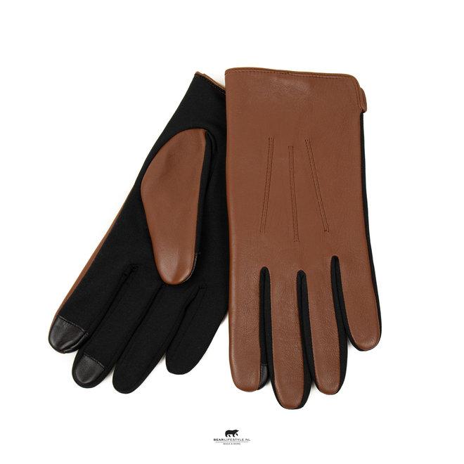 Heren handschoen leder 'Viggo' Zwart