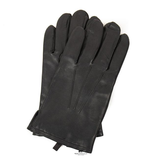 Heren handschoenen 'Miles' maat 9,5 Zwart