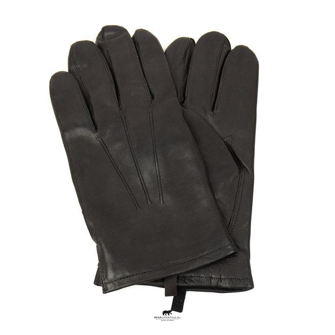 Heren handschoenen 'Miles' Zwart
