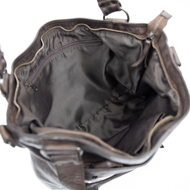 Hand- / Umhängetasche 'Elva' CL 41140 Cognac