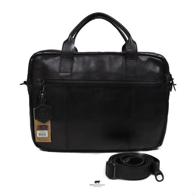"""Laptoptas 'Dani' 17"""" CL 36824 Zwart"""