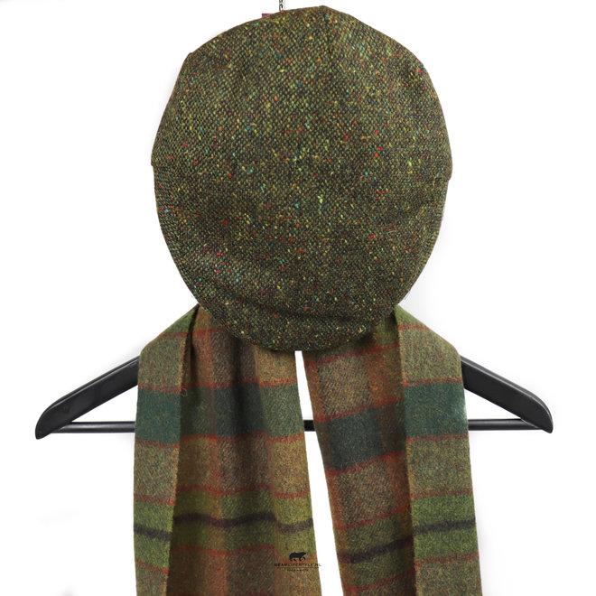 Flatcap Groen maat M