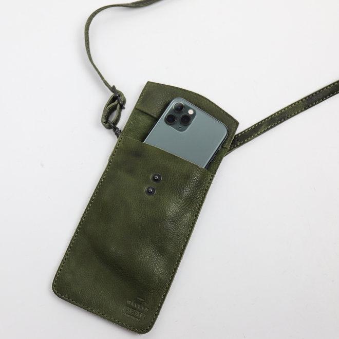 Telefoontasje 'Priya' CP 2071 Groen