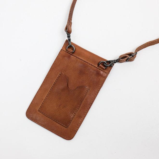 Telefontasche 'Priya' CP 2071 Cognac