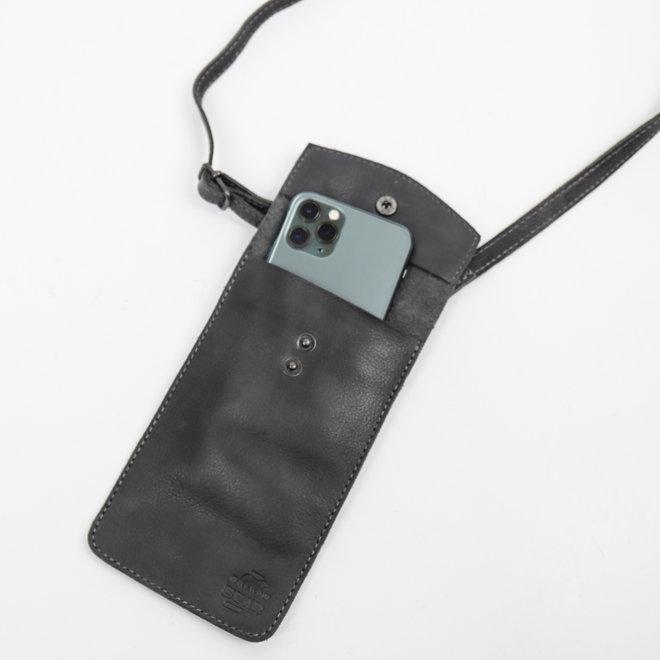 Telefoontasje 'Priya' CP 2071 Blauw/grijs
