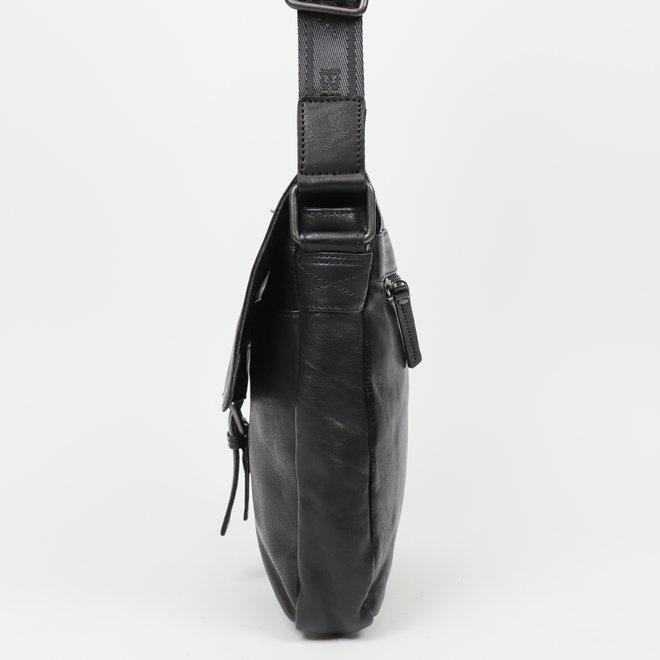 Schoudertas 'Baggio' Zwart CP 1717