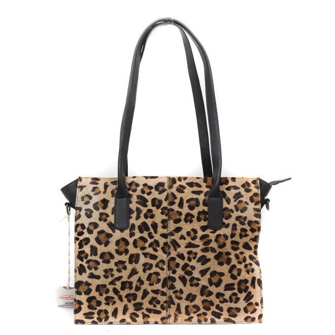 Shopper Black Dot - HH 02028 Cheetah