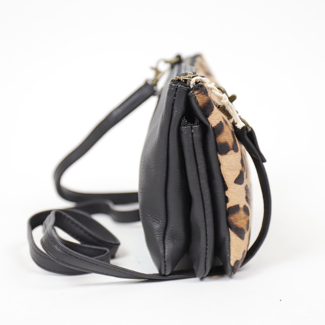 Portemonnee tasje XL 'Uma' - Cheetah