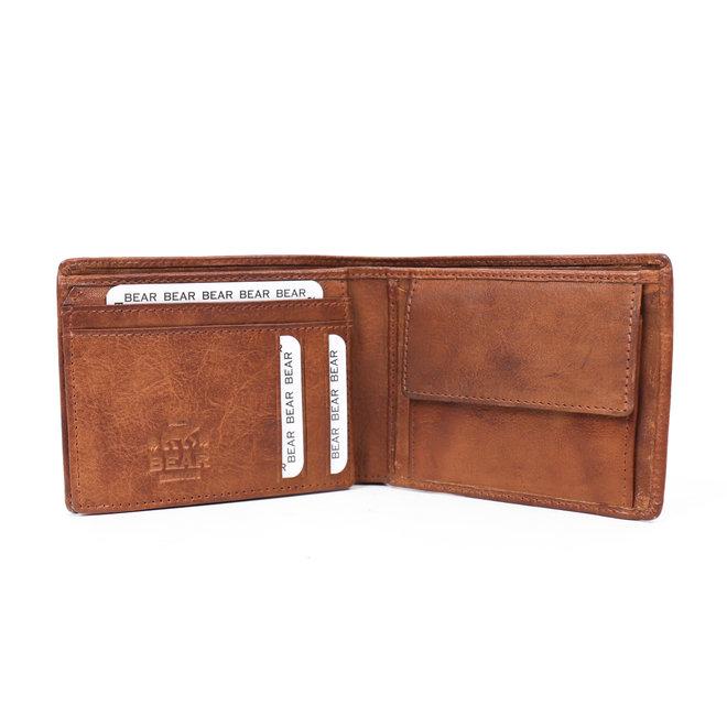 Brieftasche CP 8731 'Hardy' Cognac