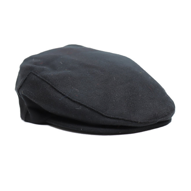 Flatcap Zwart dames/heren