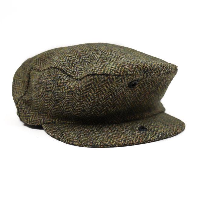 Flatcap groen dames/heren Large