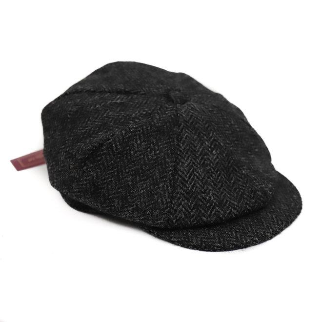 8 Piece Flat cap heren/dames grijs