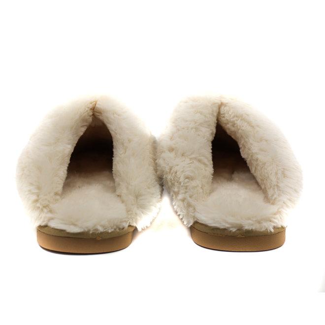 Open Spaanse pantoffels BEAR - Beige