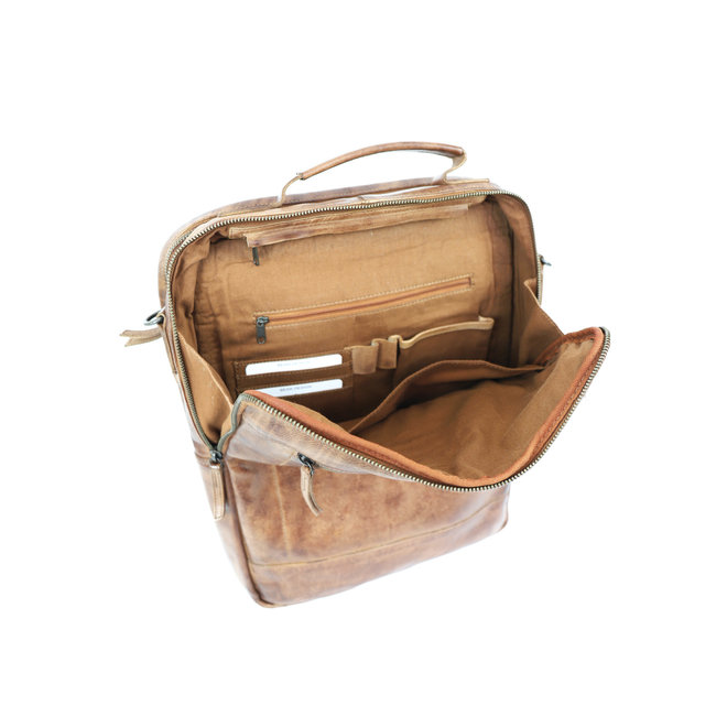 CL35278 Laptoptasche/Rucksack Celso Cognac